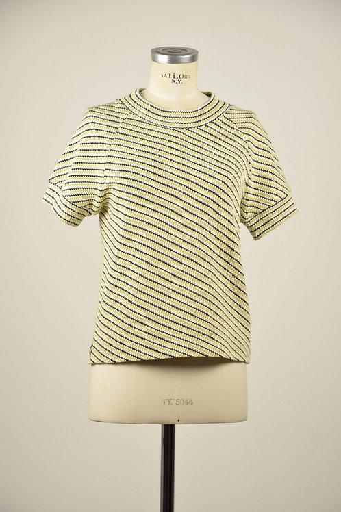 PULLOVER LEMON, HERB BERLIN, Cotton, gelb