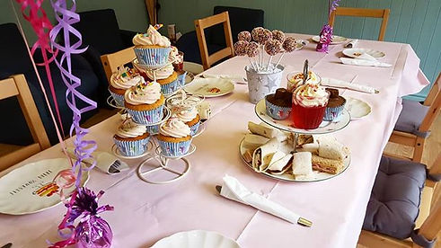 We have afternoon tea' s for all ages! -
