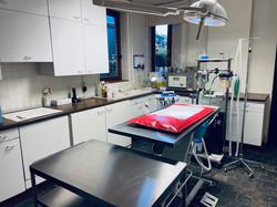 Operatiezaal met gasanesthesie