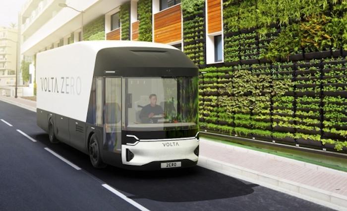 Volta Trucks Natural fibre, bio-resin bodywork manufactured by BAMD