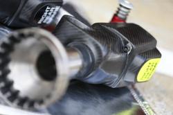 Haas F1 Paoli Wheel Gun shrouds