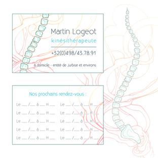 Carte de visite Martin Logeot