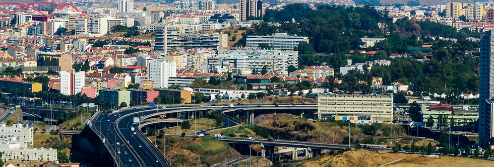 Quadro Urbanismo em Lisboa - Picture Framing in Lisbon by Kcris Ramos