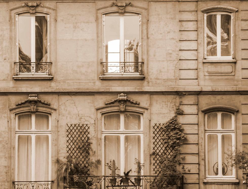 Quadro Janelas em Sépia - Sepia Windows picture by Kcris Ramos