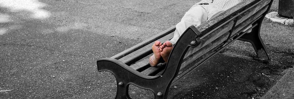 Quadro Sonhos de um mendigo - Picture Dreams of a beggar -  Kcris Ramos
