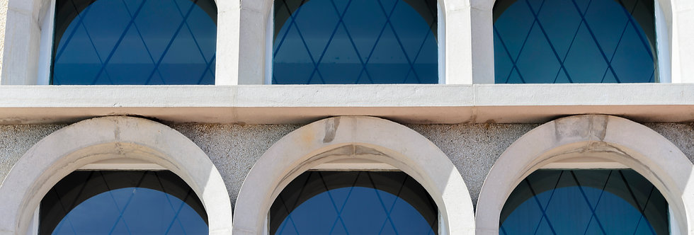 Quadro Janelas dos Arcos - Frames Windows of the Arches by Kcris Ramos