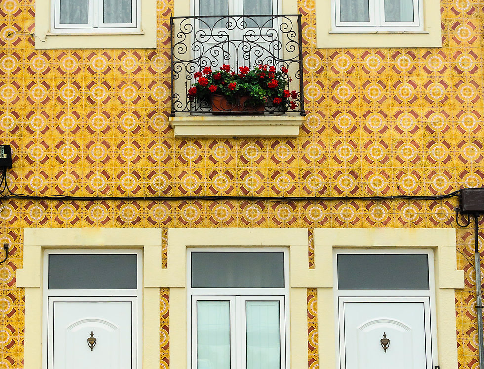 Quadro Casinha Amarela - Yellow House Frame by Kcris Ramos