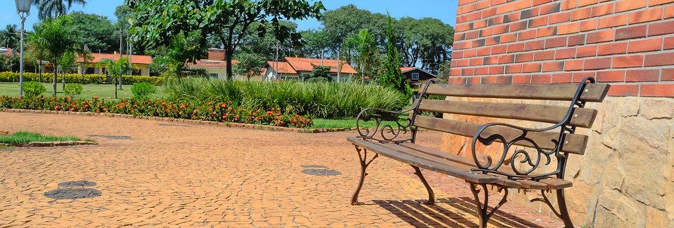 Quadro Banco do sol - Frame bench of the sun by Kcris Ramos