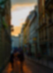 Fotografia Caminhos do Sol em Paris