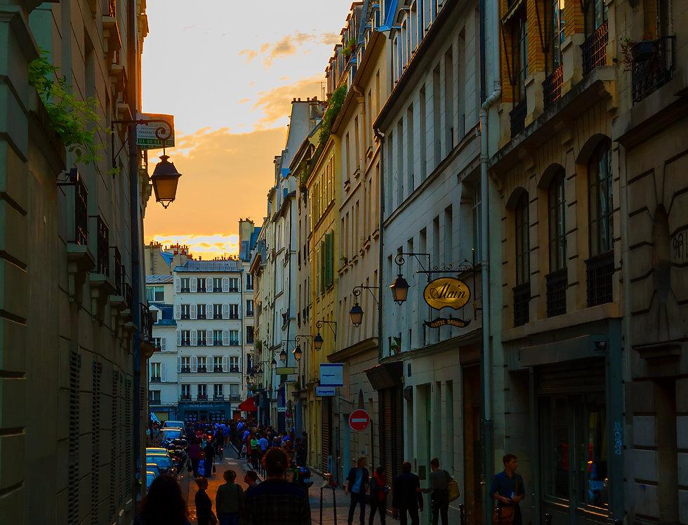 Quadro Caminhos do sol de Paris - Frame Paths of the sun of Paris by Kcris Ramos