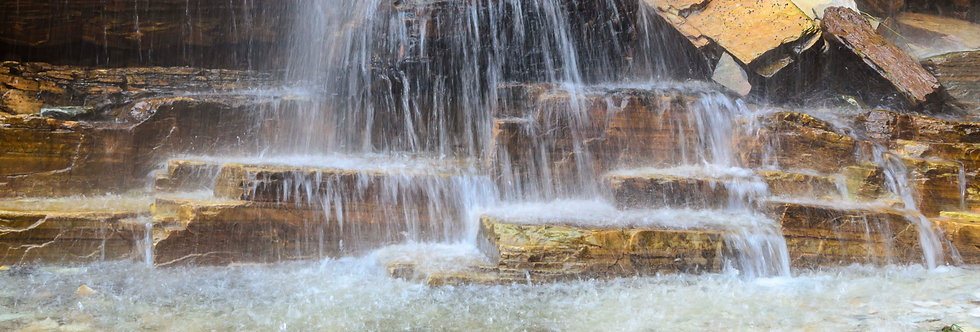 Quadro Cachoeira das Pedras - Waterfall frame of Stones by Kcris Ramos