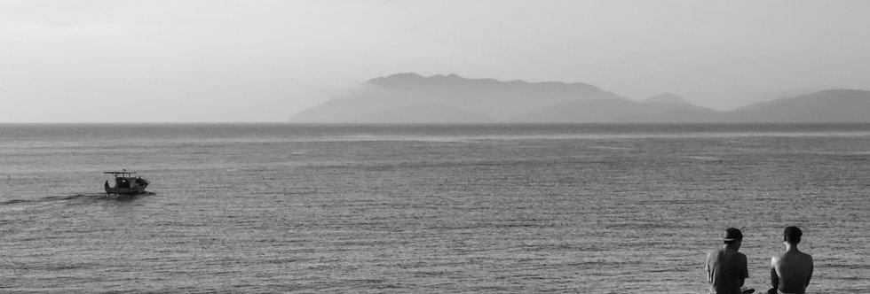 Quadro conversa de mar -Sea talk frame by Kcris Ramos