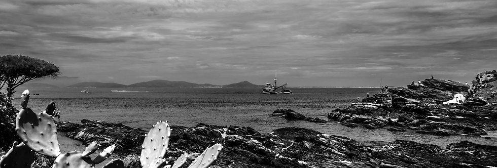 Quadro O barquinho - The boat frame by Kcris Ramos