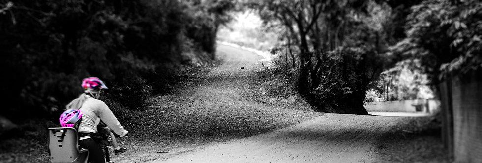 Quadro Caminhos da Bike - bike paths frame by Kcris Ramos
