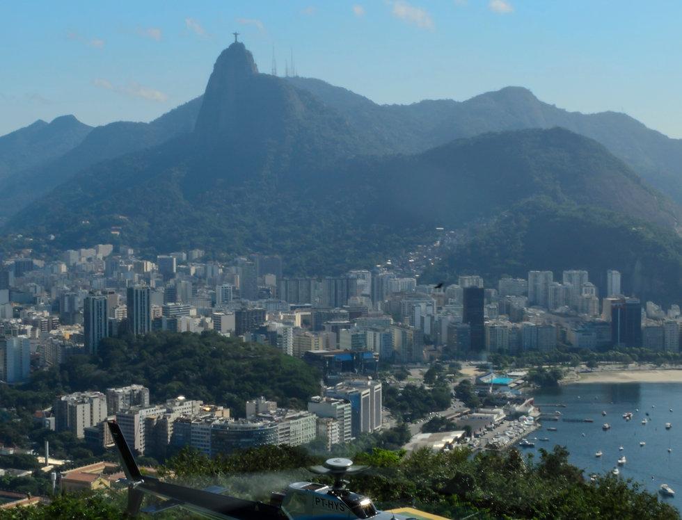 Aterrissando no Rio - Landing in Rio of Janeiro by Kcris Ramos
