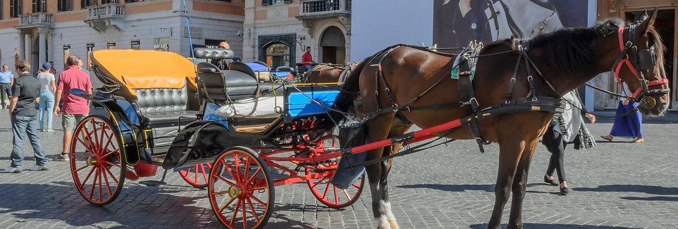 Quadro Passeando por Roma - Picture Walking around Rome by Kcris Ramos