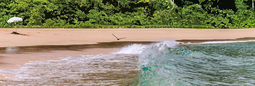 Quadro Na direção do mar - Frame Towards the sea by Kcris Ramos