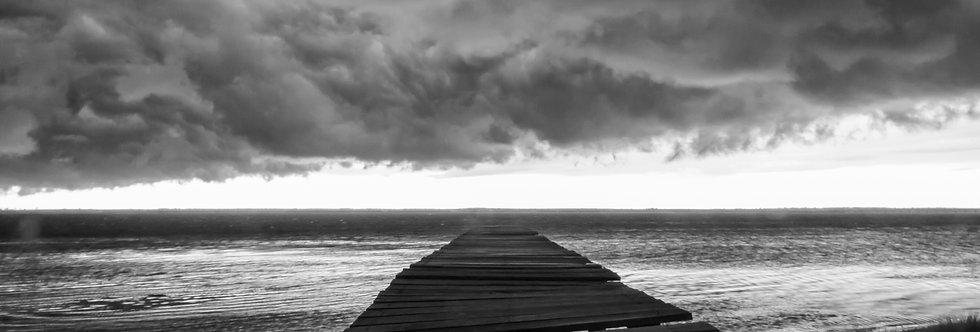 Quadro Tempestade - storm frame by Kcris Ramos