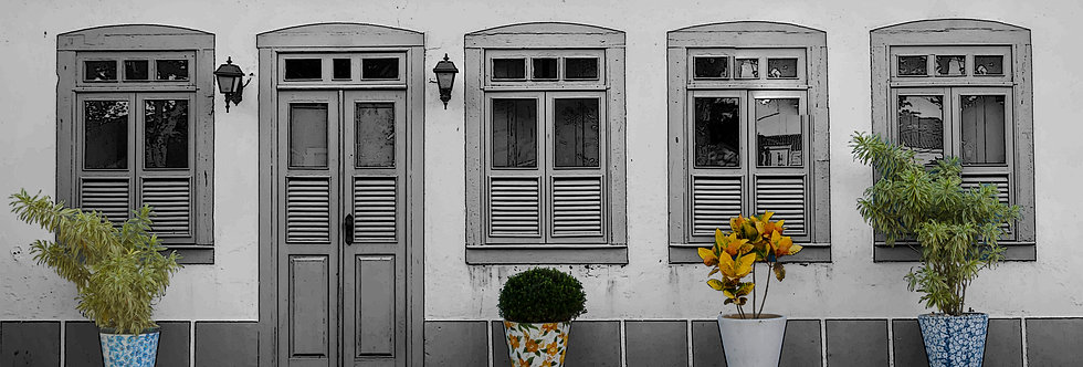 Quadro Janelas de Búzios - Windows frame of Búzios by Kcris Ramos