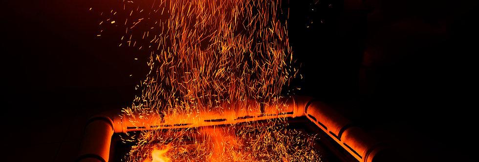 Quadro Magia do fogo - Picture Fire magic by Kcris Ramos