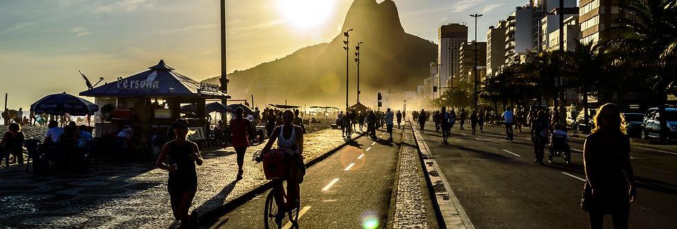 Quadro Rio Sol de Verão - Picture Summer River Sun by Kcris Ramos