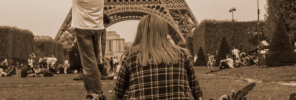 Paris, uma tarde um dia. -Paris one afternoon a day. by Kcris Ramos