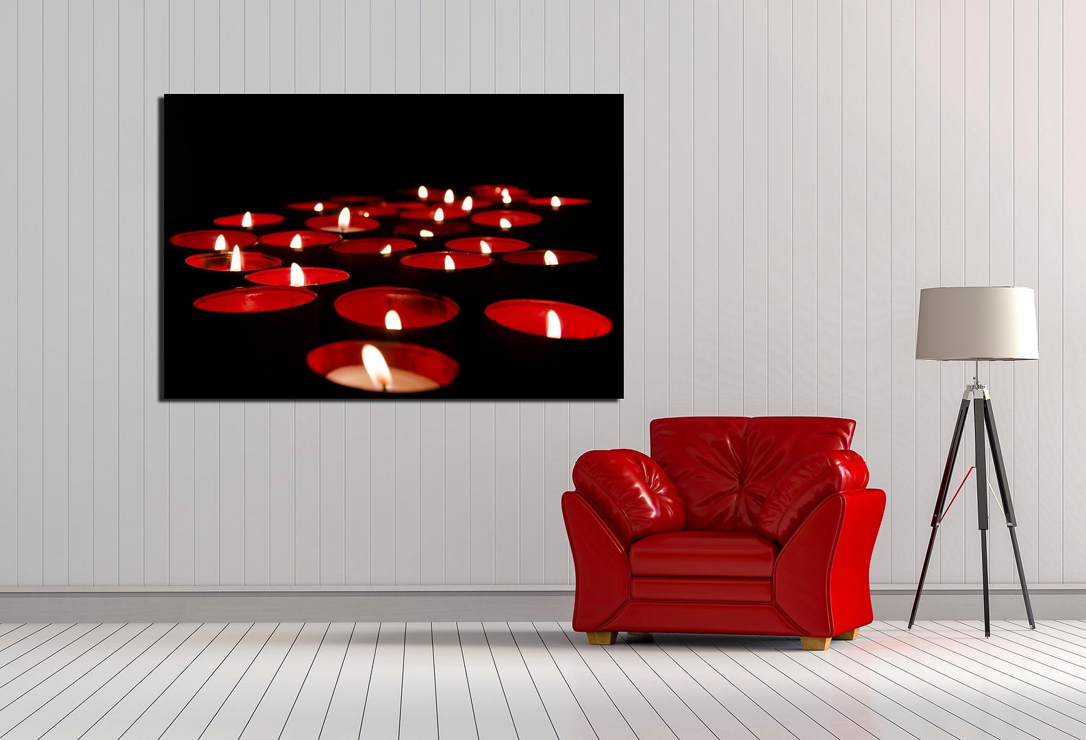 sala-decorada-com-quadro-fine-art-luzes-de-natal