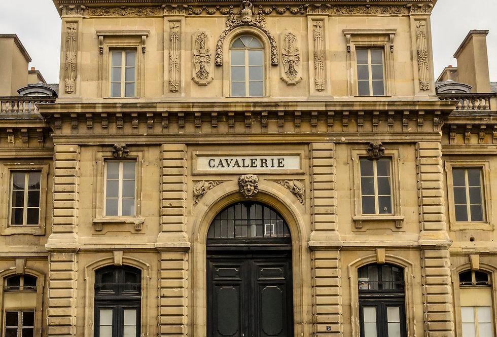 Quadro Cavalerie em Paris por Kcris Ramos
