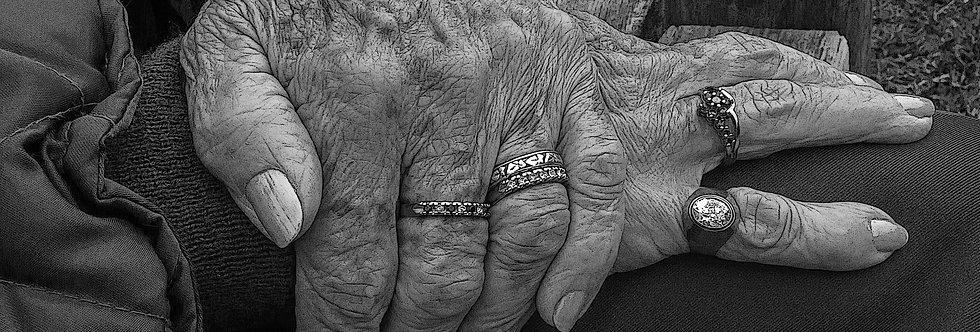 Quadro Mãos da experiência - Picture Hands of Experience by Kcris Ramos