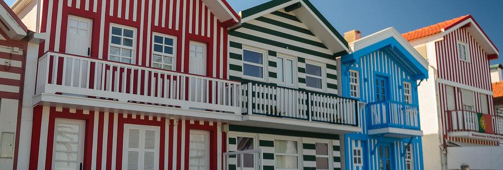 Quadro Palheiros da Costa Nova - Frame Palheiros da Costa Nova by Kcris Ramos