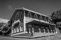 Quadro de arquitetura, casa antiga no Recife PE Brasil