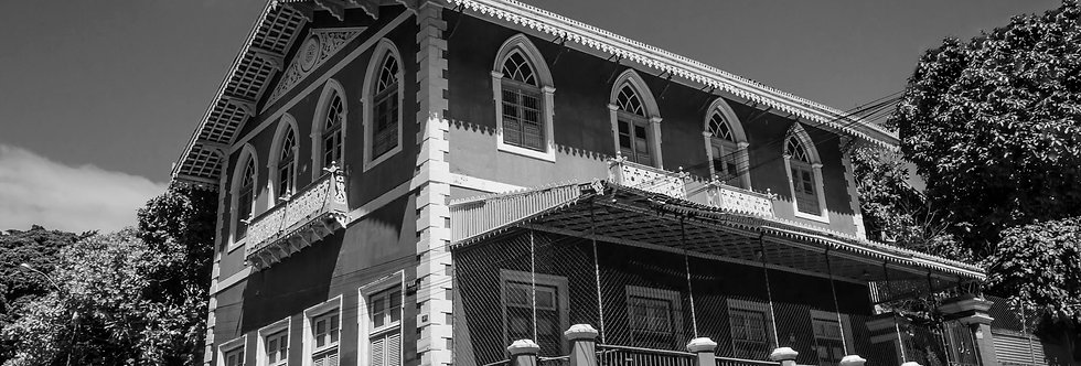 Quadro Casa das Janelas - frame window house by Kcris Ramos