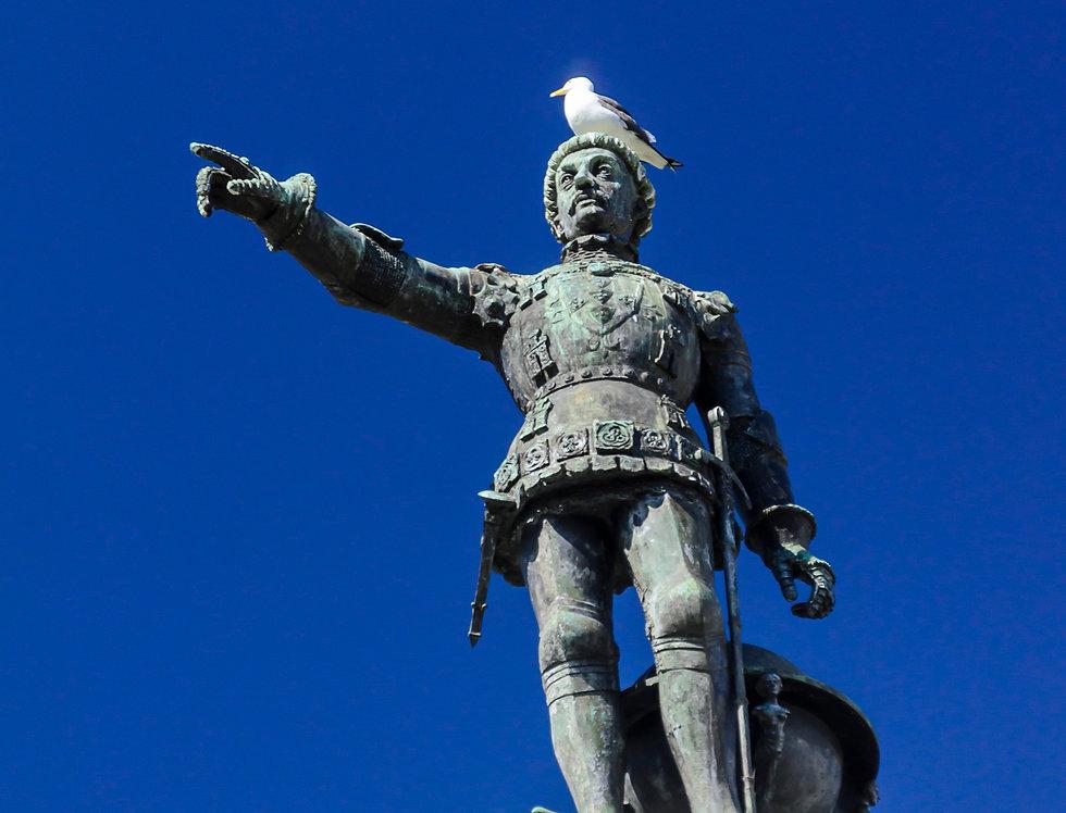 Quadro O imperador e a Pomba - Picture The Emperor and the Dove by Kcris Ramos