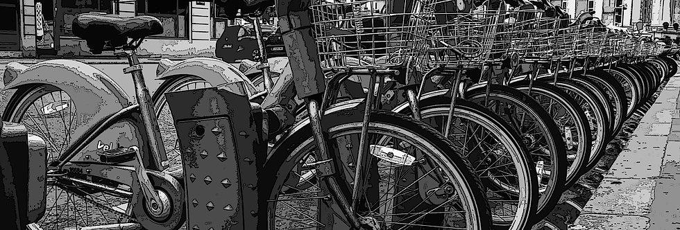 Quadro Bike francesa - French Bike Frame by Kcris Ramos