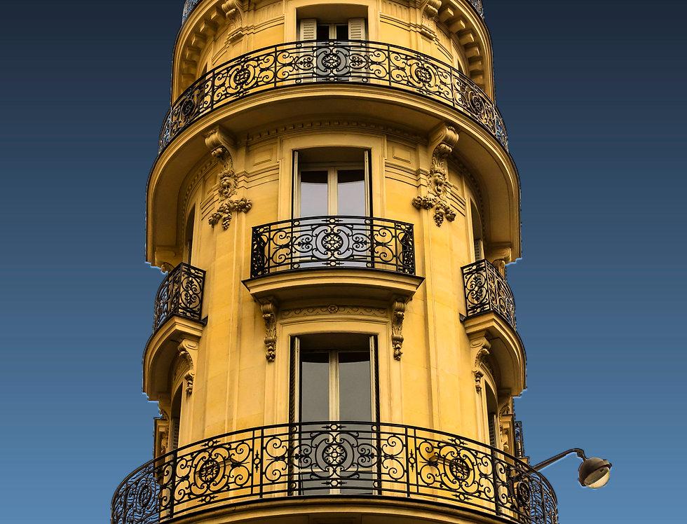 Quadro Um Apê em Paris - Frame One Apê in Paris by Kcris Ramos