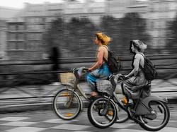 Fine art Bike na Velocidade das Somb