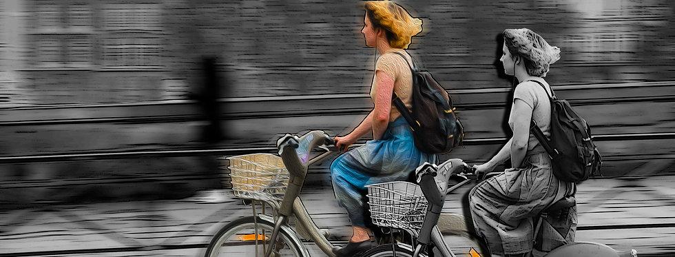 Fine Art Bike na Velocidade das Sombras por Kcris Ramos