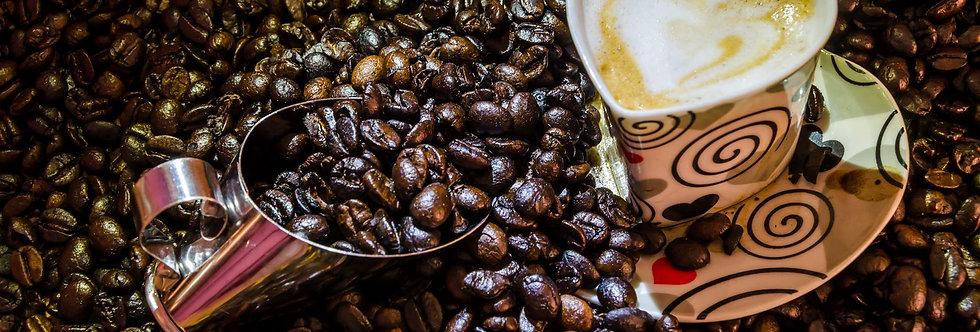 Quadro Café o grão mágico - Frame Coffee the magic grain by Kcris Ramos