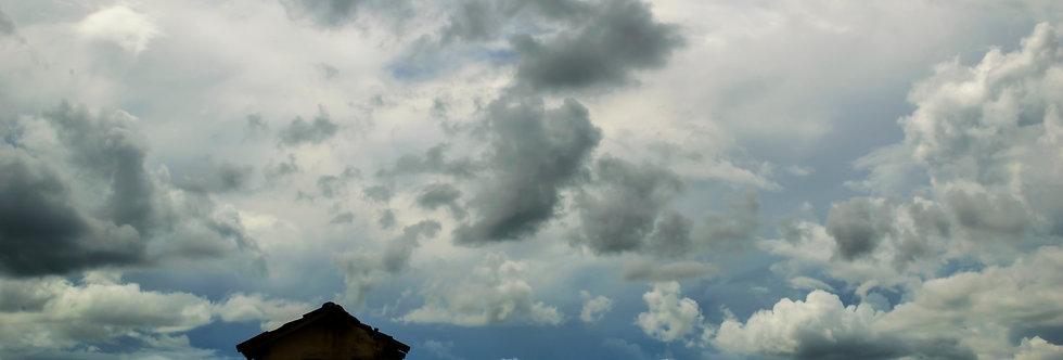 Quadro Silhueta do amanhã - Frame Silhouettes of tomorrow by Kcris Ramos