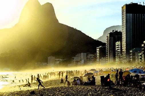 Photography fine art  rio de janeiro beach Ipanema.