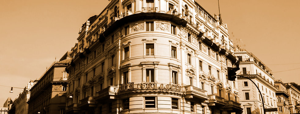 Quadro Janelas da Esquina  Sépia - Frame Sepia Corner Windows by Kcris Ramos