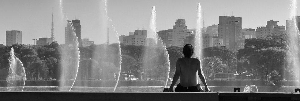 São Paulo, águas do Ibirapuera - São Paulo, waters of Ibirapuera by Kcris Ramos