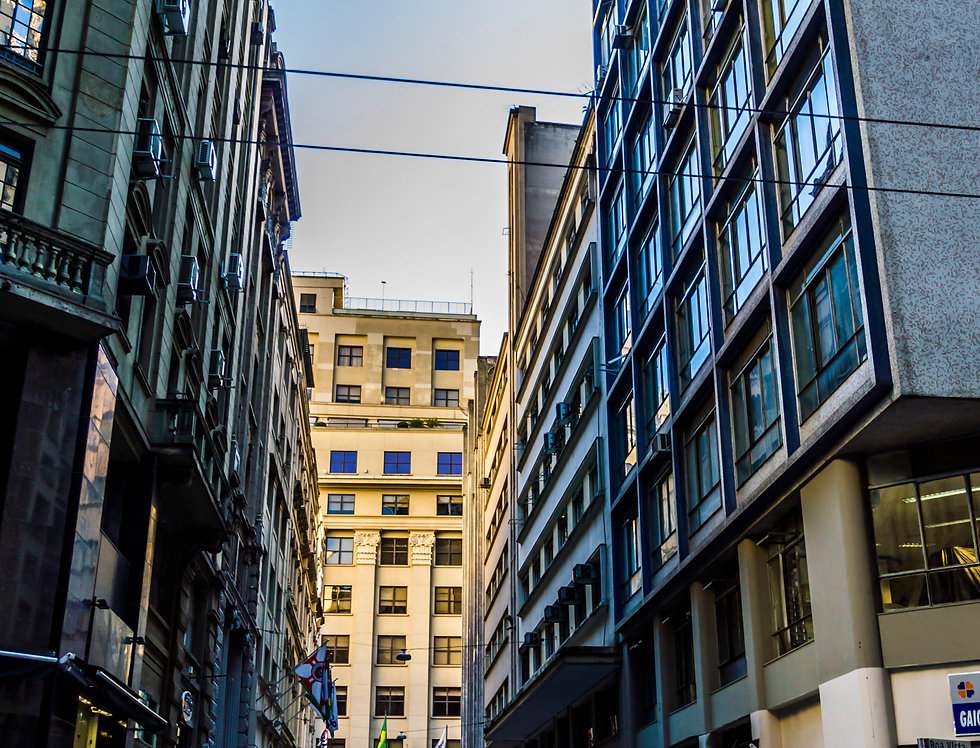 Quadro São Paulo,  Becos e vielas. Picture Sao Paulo, Alleys and alleys. by Kcris Ramos