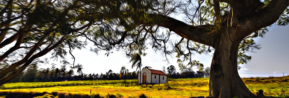 Quadro La na Fazenda -  Frame the farm by Kcris Ramos