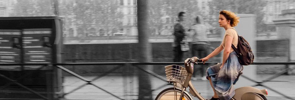 Quadro Ela em Paris - Picture She in Paris by Kcris Ramos