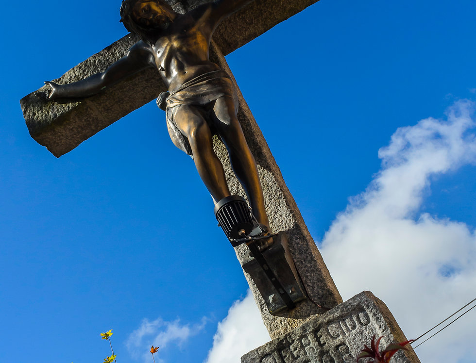 Quadro Jesus na Cruz - Picture Jesus on the Cross by Kcris Ramos