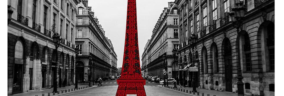 Quadro Torre vermelha por Kcris Ramos
