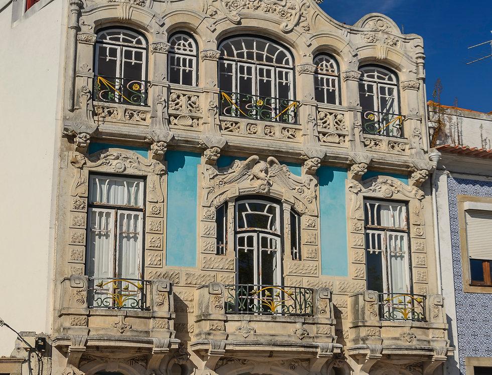 Quadro Arquitetura  Art Déco de Aveiro por Kcris Ramos