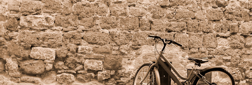 Quadro Bike em Sépia - Bike Frame in Sepia by Kcris Ramos