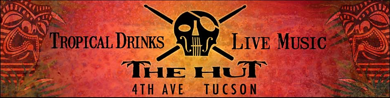 The Hut Tucson ad logo